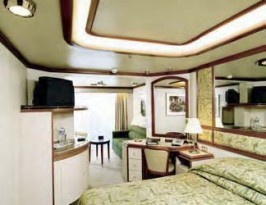 Princess Caribbean Princess Cabin D207