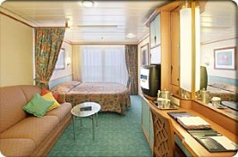 Royal Caribbean Adventure of the Seas Cabin 9666