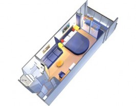 Royal Caribbean Radiance of the Seas Cabin 7050