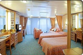 Royal Caribbean Adventure of the Seas Cabin 9540