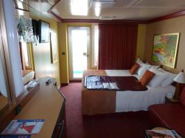 Carnival Dream Cruise Review For Cabin 12205
