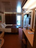 View of Stateroom and Balcony Door