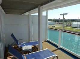 balcony loungers