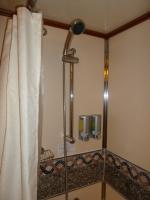 Shower soap dispenser