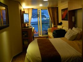 Our room 6257on the Celebrity Equinox