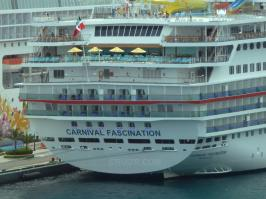 Carnival Fascination Cabin M261