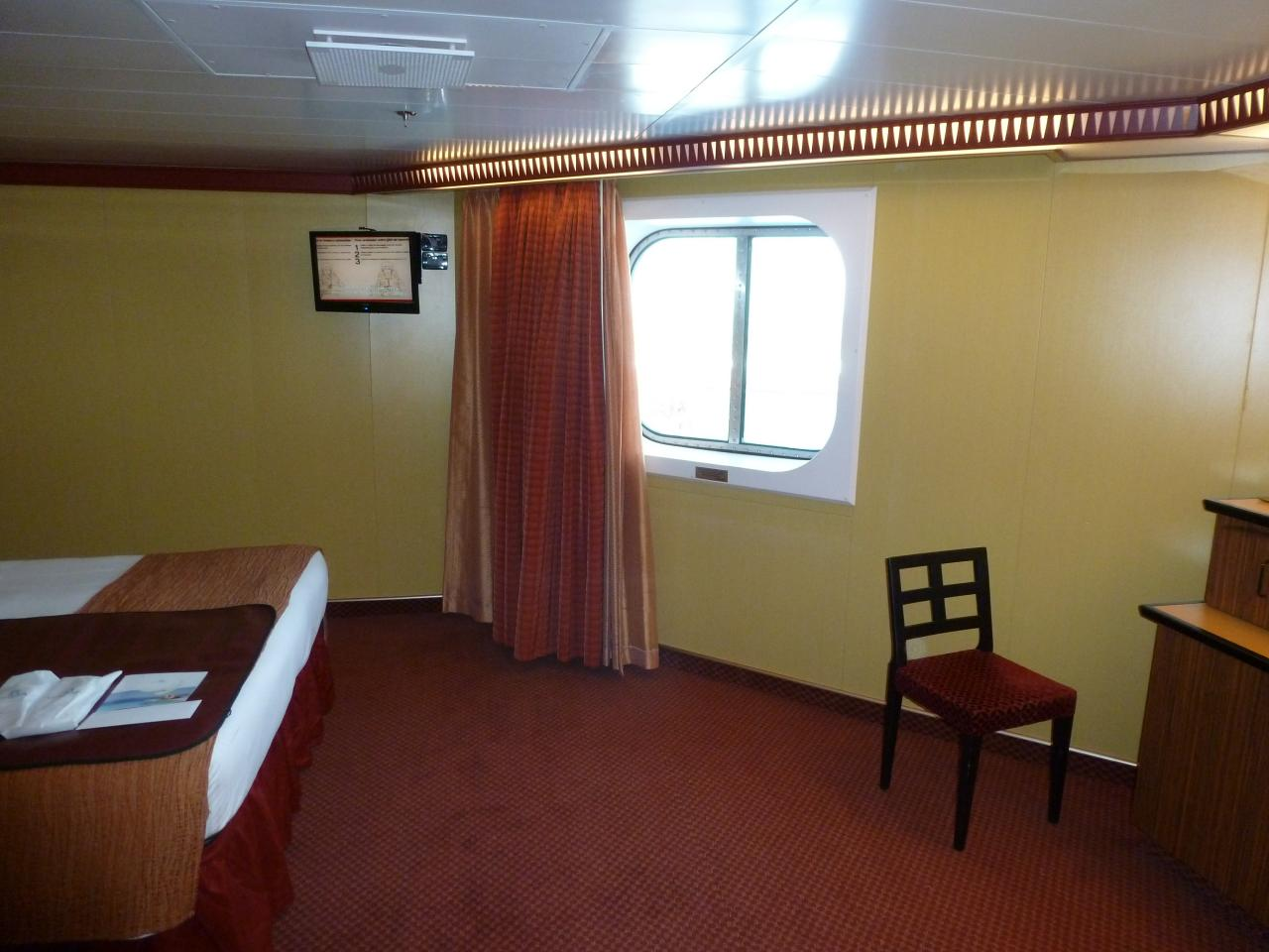 Carnival Dream Cruise Review For Cabin 11204