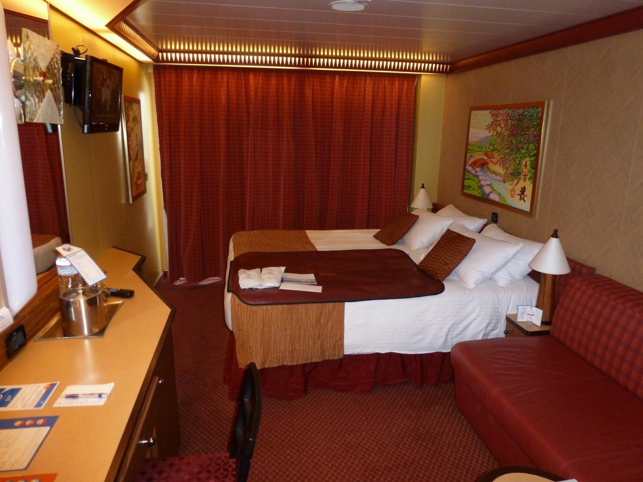 Carnival Dream Cruise Review For Cabin 11246