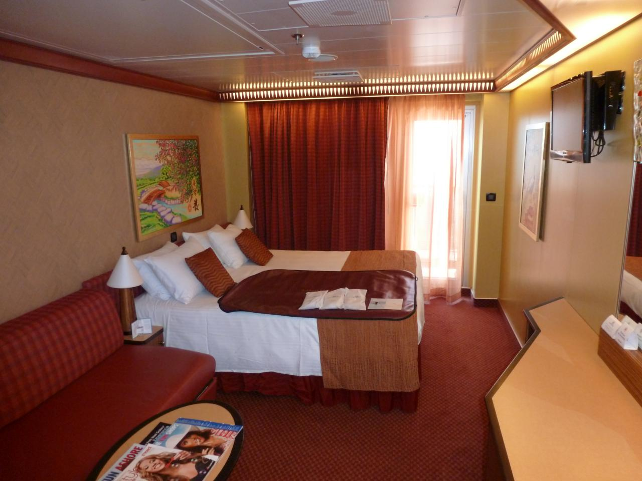 Carnival Dream Cruise Review For Cabin 12202