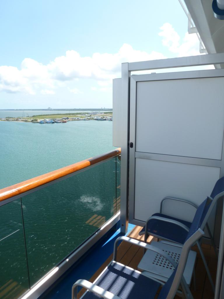 Carnival dream cruise review for cabin 12205 for Balcony on carnival cruise