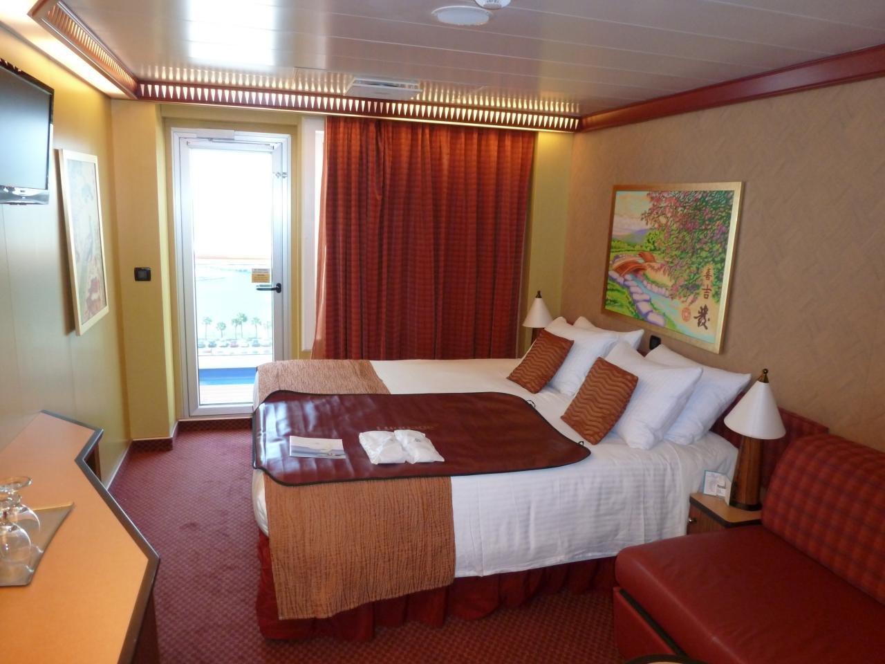 carnival balcony rooms Carnival Dream Cruise Review For Cabin 12208