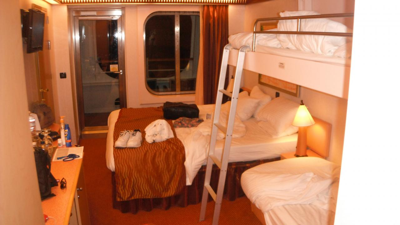 Carnival dream cruise review for cabin 2258 for Dream cabins