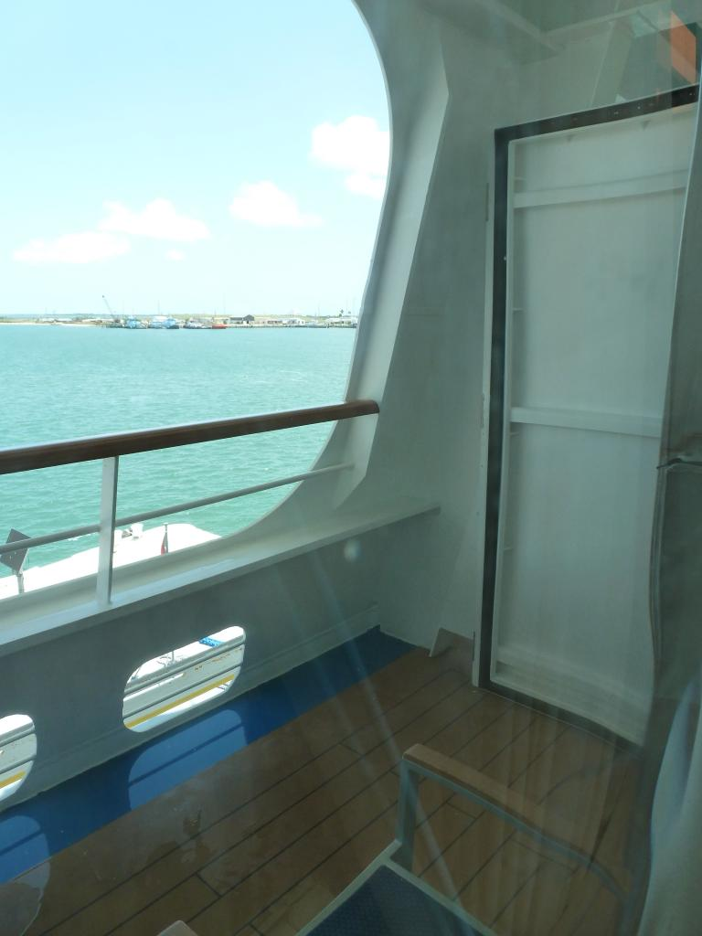 Carnival dream cruise review for cabin 2423 for Balcony on cruise ship
