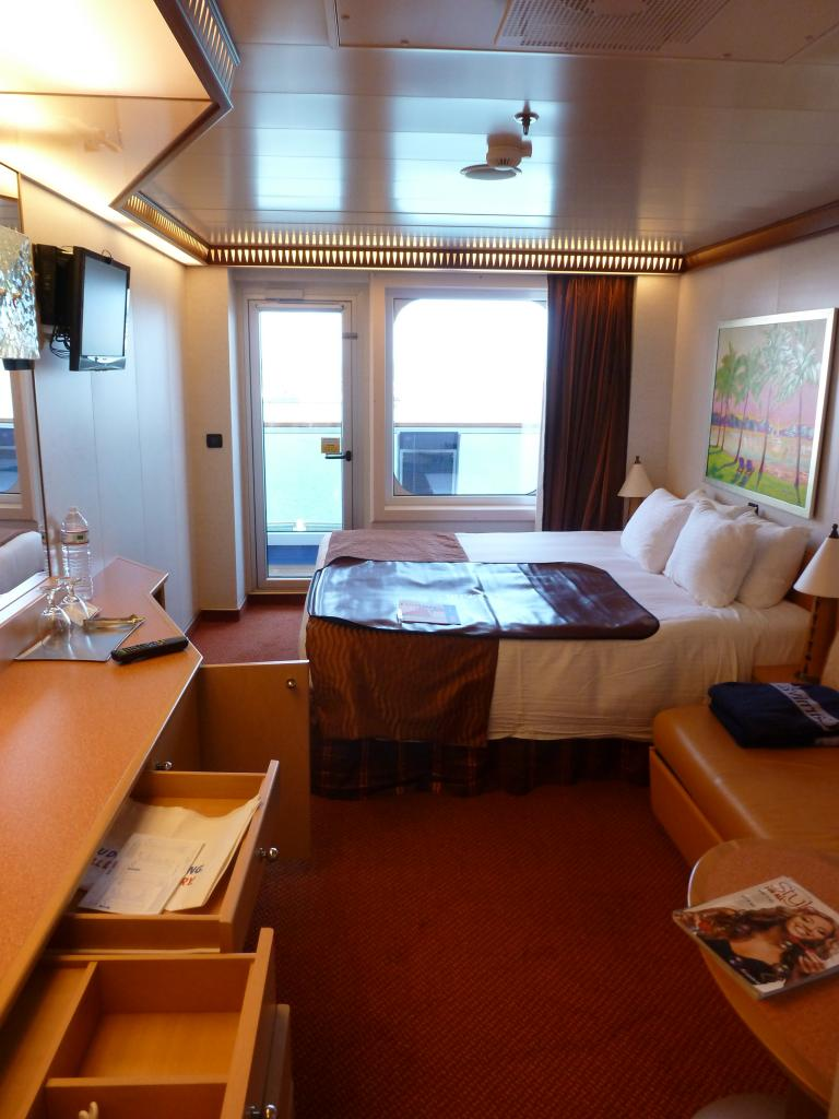 Carnival dream cruise review for cabin 6337 for Alaska cruise balcony room
