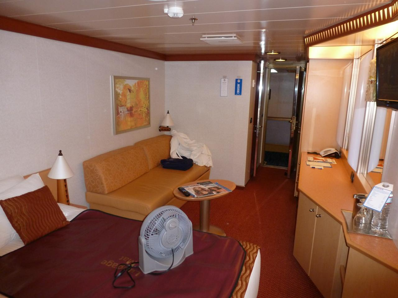 Carnival Dream Cruise Review For Cabin 6481