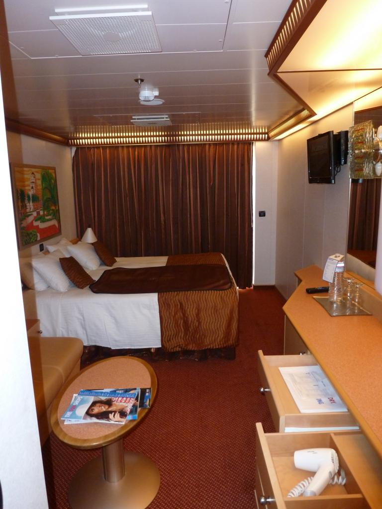 Carnival Dream Cruise Review For Cabin 8468