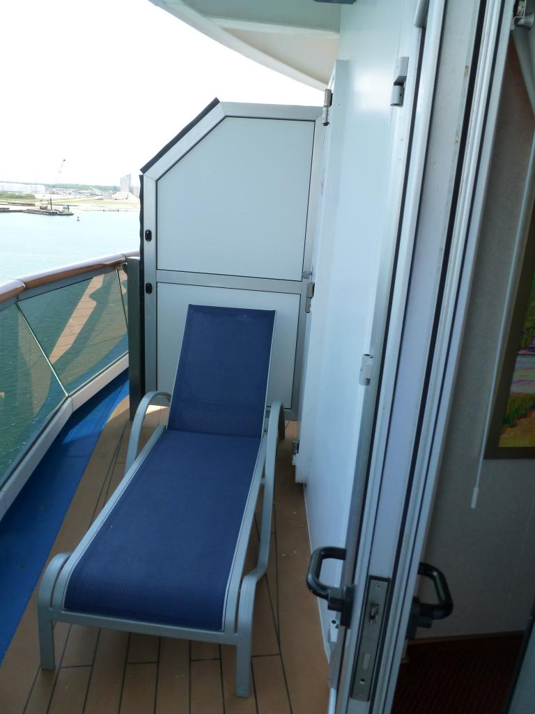 Carnival dream cruise review for cabin 8469 for Balcony on carnival cruise