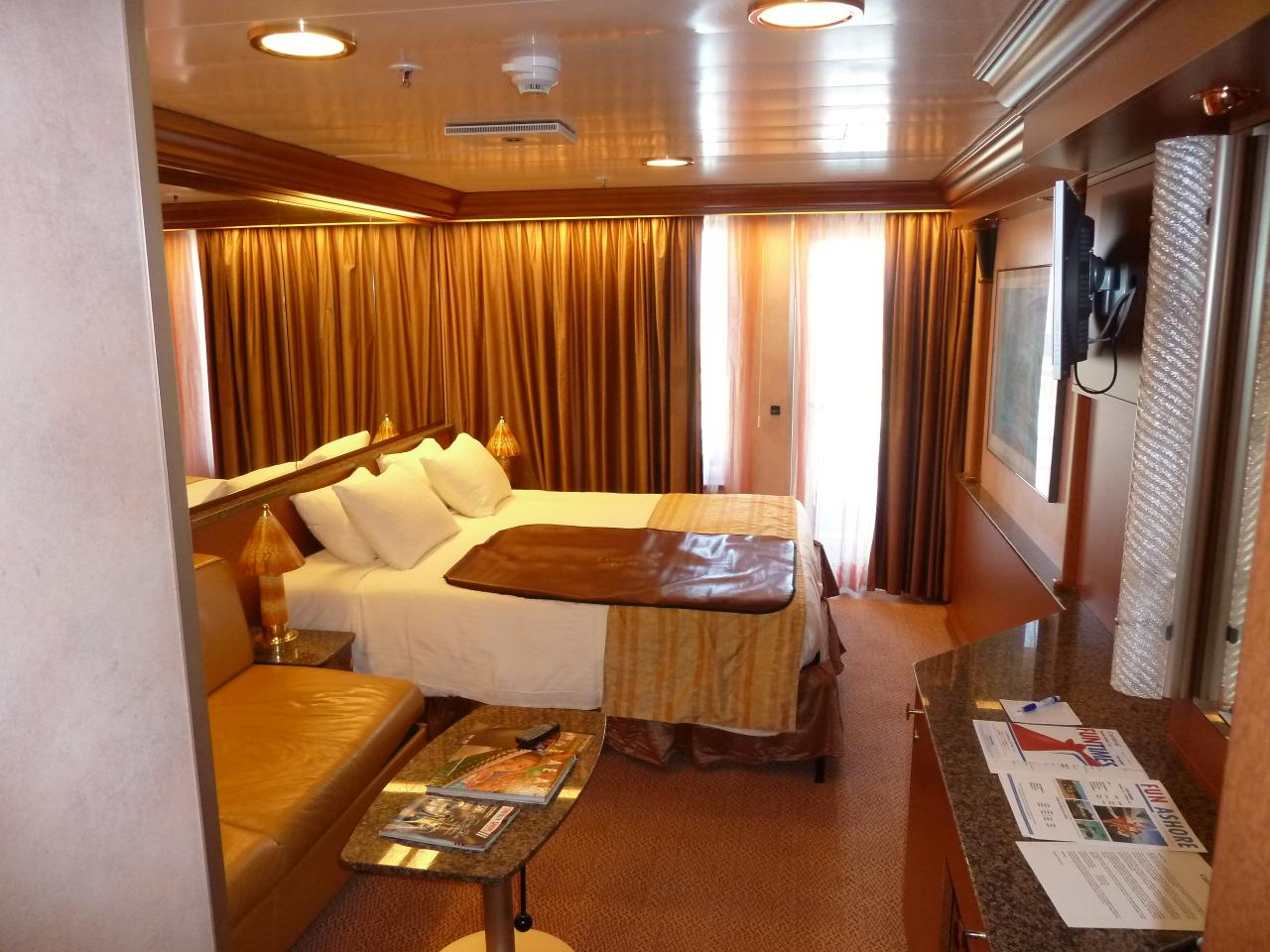 Carnival Ecstasy Cruise Review For Cabin V15