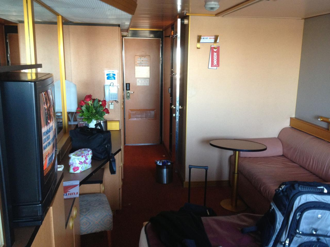 Carnival Triumph Cruise Review For Cabin 1050