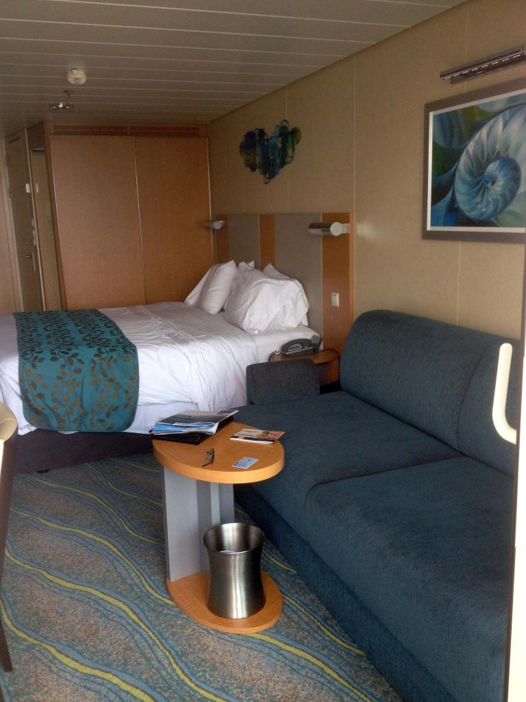 royal caribbean allure of the seas cruise review for cabin