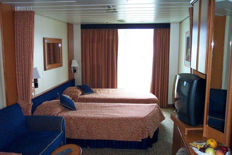 aft cabin beds and couch
