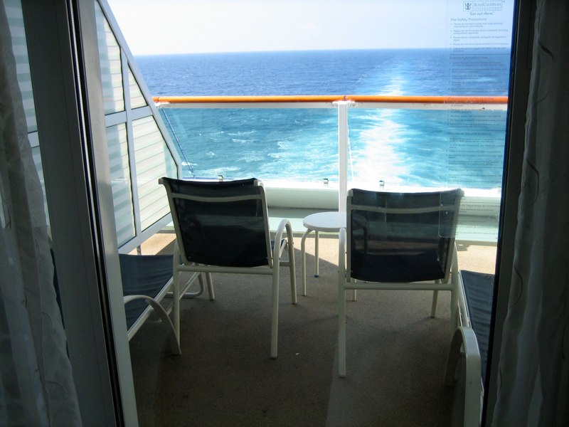 Royal caribbean serenade of the seas cruise review for for Caribbean cruise balcony