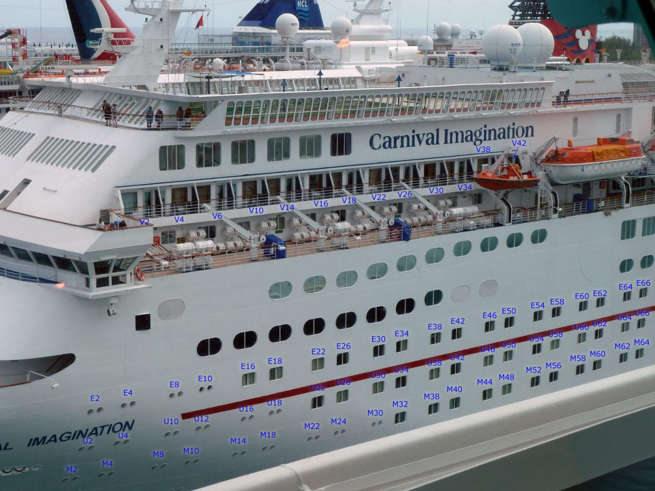 Carnival Imagination Cruise Review for Cabin V38 on