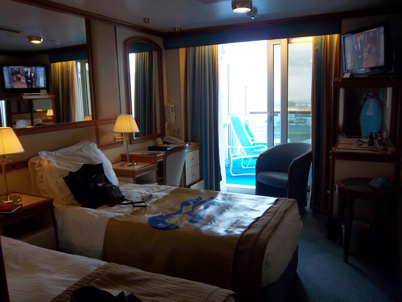 Princess Caribbean Princess Cruise Review For Cabin C723